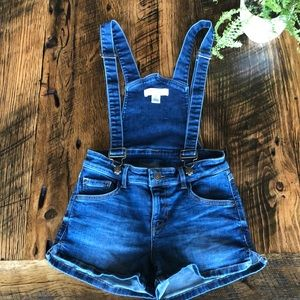Guess Denim Overall Shorts 24